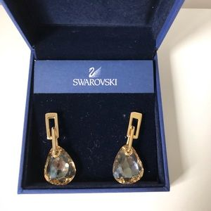 Swarovski Parallele Desert Glow Earrings